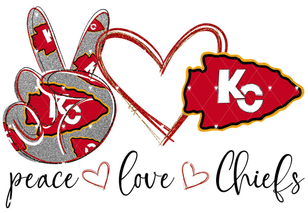 Peace Love Chiefs digital