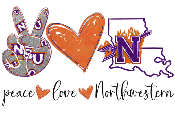 Peace Love Northwestern