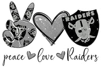 Peace Love Raiders digital