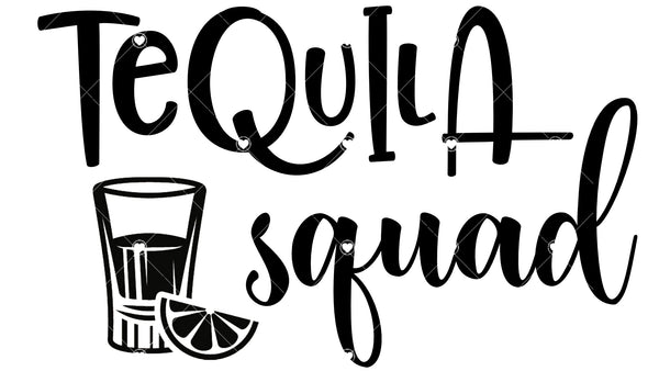 Tequila Squad Ready To Press Sublimation Transfer