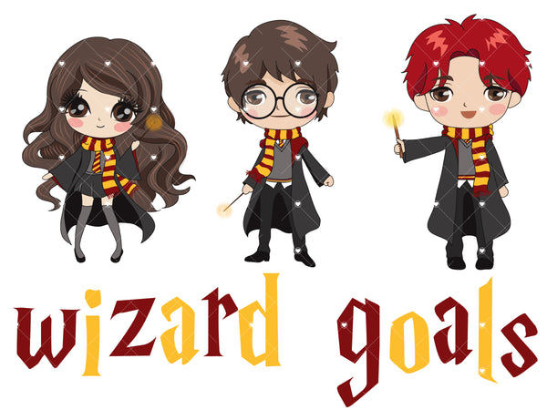 Wizard Goals Ready To Press Sublimation Transfer
