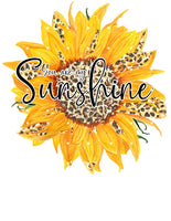 You are my Sunshine Ready To Press Sublimation Transfer