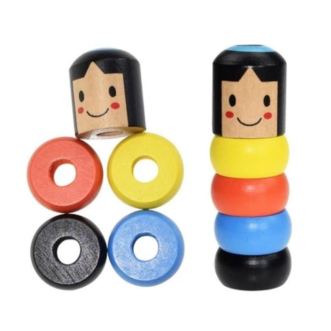 MAGIC WOODEN DOLL