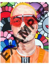 Load image into Gallery viewer, Original J Balvin Print