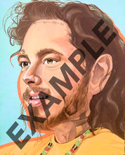 Load image into Gallery viewer, Post Malone Print