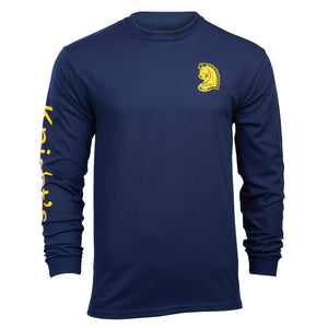 Knight's Fitted Long Sleeve Tee - Additional Colors Avail.