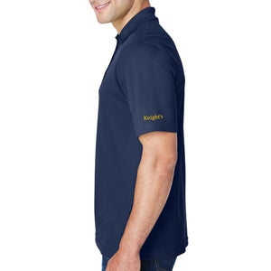 Knight's Men's Performance Embroidered Polo - Additional Colors Avail.