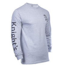 Load image into Gallery viewer, Knight's Fitted Long Sleeve Tee - Additional Colors Avail.