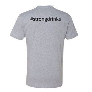 Knight's #strongdrinks Fitted Short Sleeve Tee - Additional Colors Avail.
