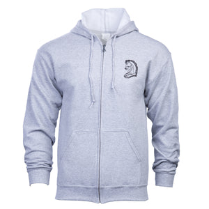 Knight's Heavy Blend Full Zip Hooded Sweatshirt - Additional Colors Avail.