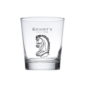 Set of 2 Knight's 13 Oz. Heavy Base English Hi Ball Glass