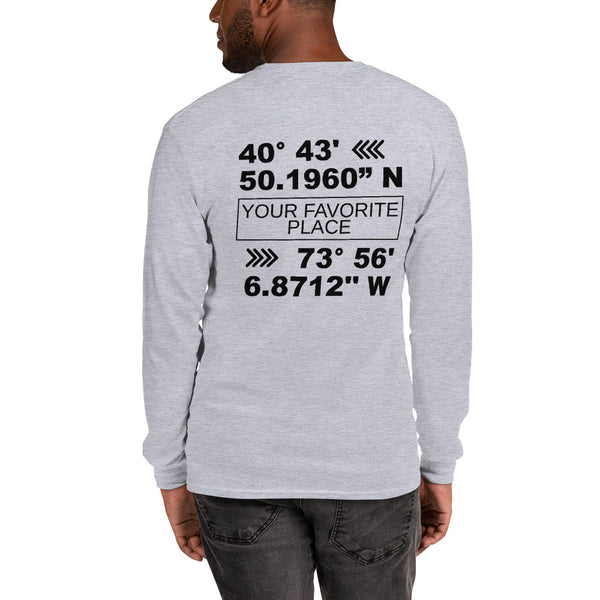 Custom Coördinates Long Sleeve Men