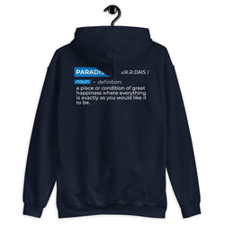 Definition of Paradise Hoodie Men