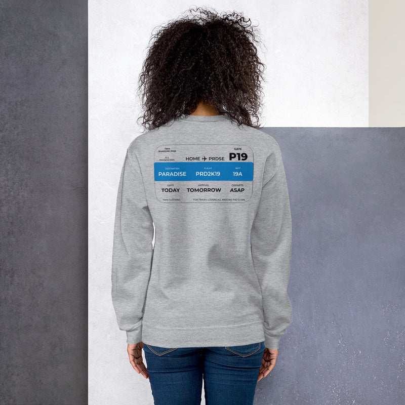 Ticket to Paradise Sweatshirt Women