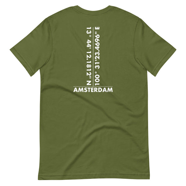 Amsterdam Happy Place T-Shirt Men