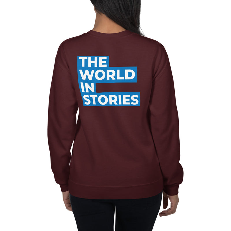 The World In Stories Sweatshirt Women