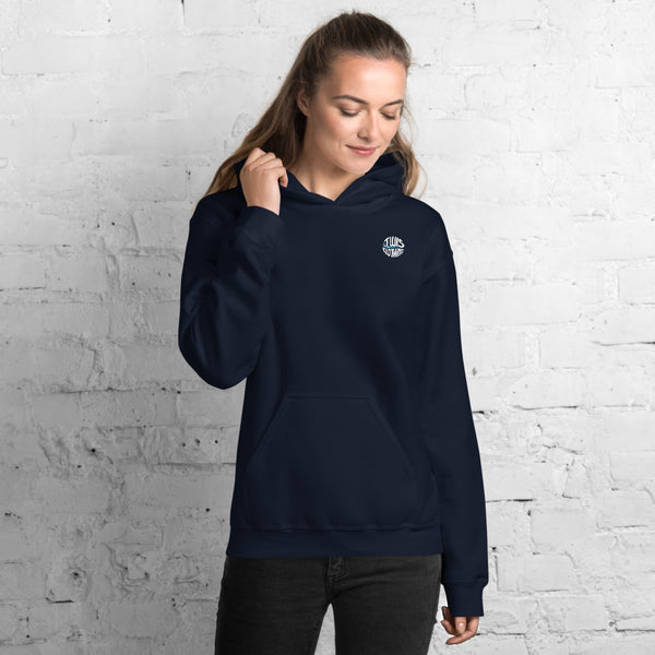 The World In Stories Hoodie Women