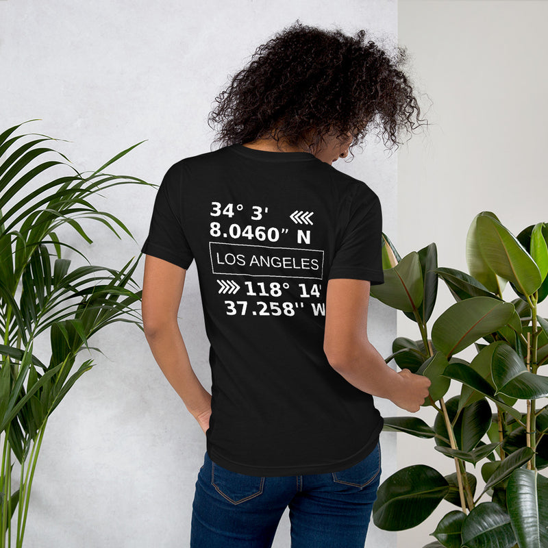 Los Angeles Coördinates T-Shirt Women