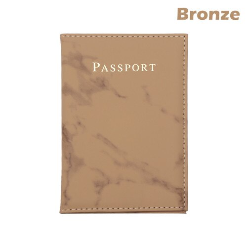 Passport Cover Marble