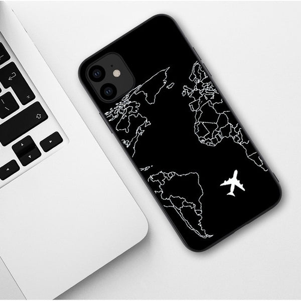 Fly The World iPhone Case
