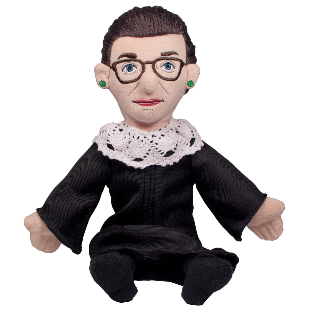 "Ruth Bader Ginsberg RBG ""Lillie Thinker"" Doll"