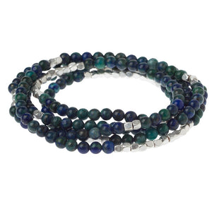"Wrap Bracelet ""Stone of Heaven"""