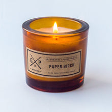 Load image into Gallery viewer, Greenmarket Purveying Paper Birch Candle