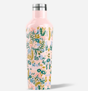 Rifle Paper Co. Canteen by Corkcicle, in Pink