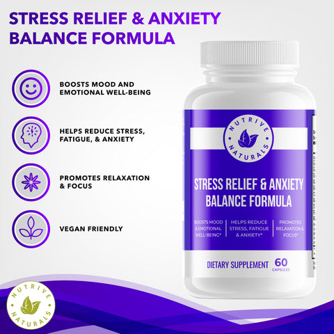 Stress Relief & Anxiety Formula -4