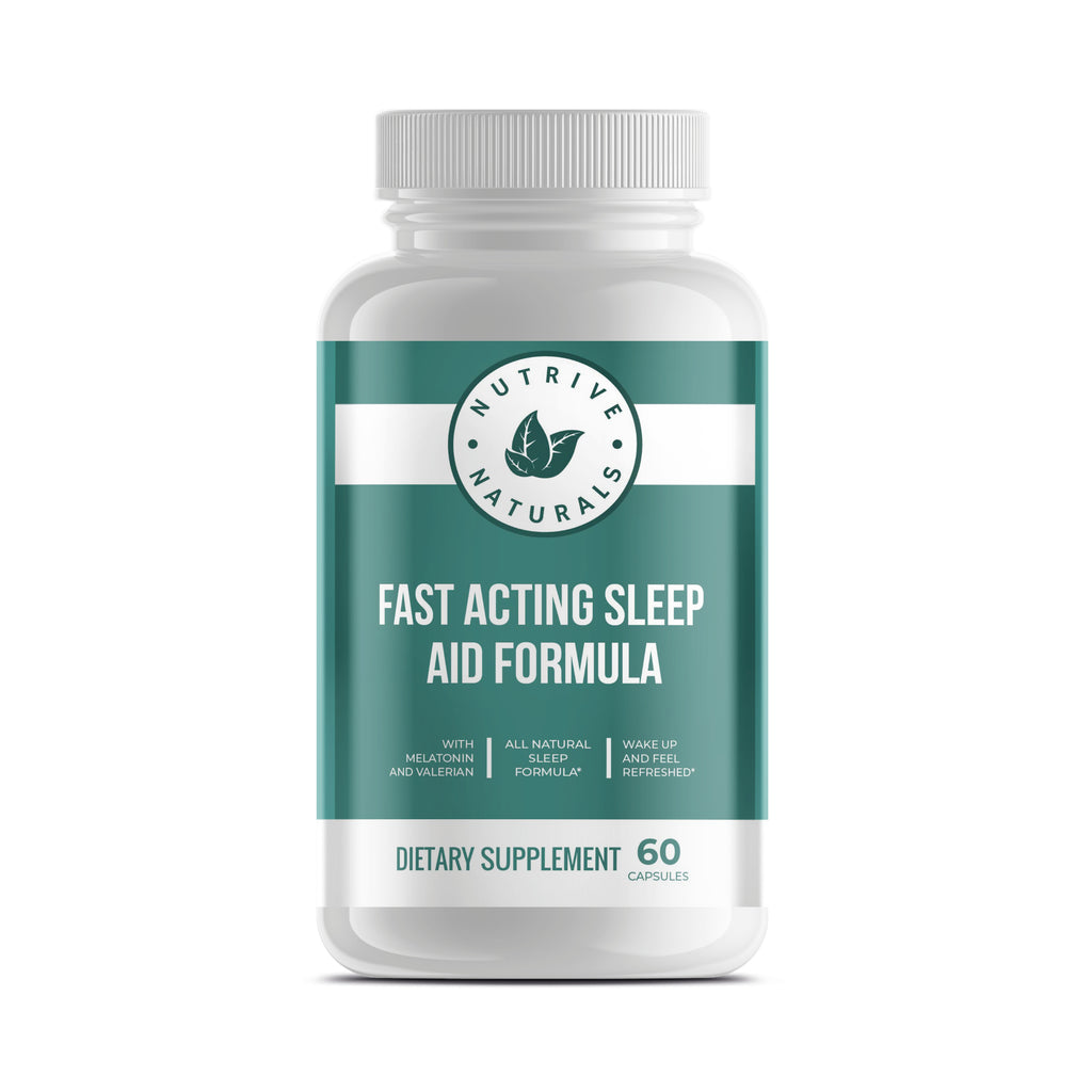 Fast Acting Sleep Aid Formula