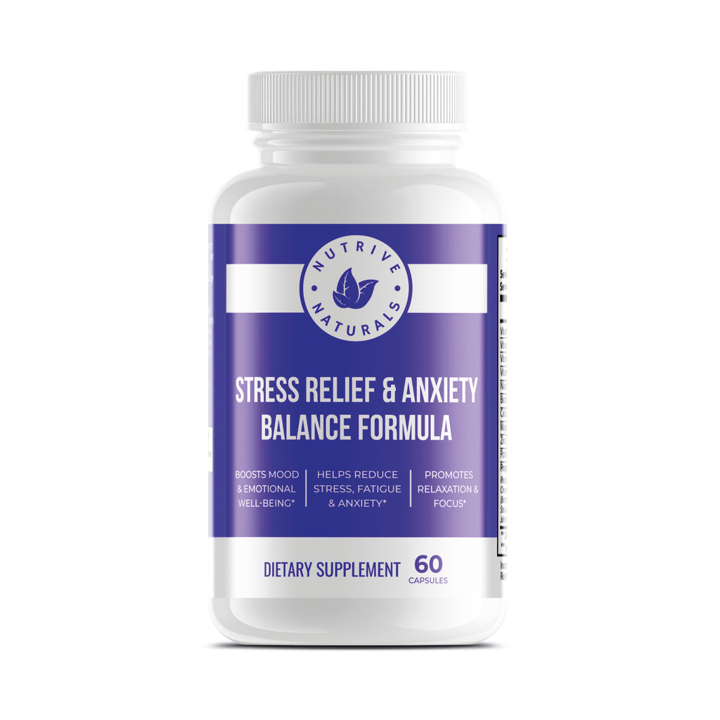 Stress Relief & Anxiety Balance Formula