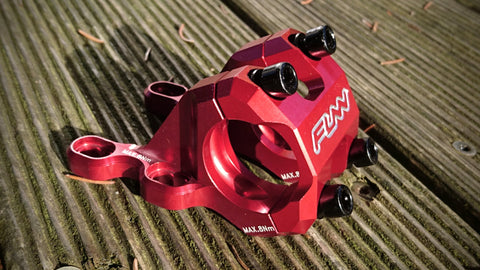 Funn RSX III Direct Mount stem Red