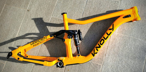 "Knolly Warden LT 2021 27,5"" MC LAREN ORANGE - Rock Shox Super Deluxe Ultimate"
