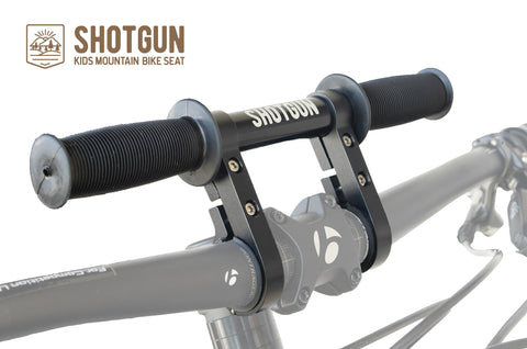 Shotgun kids mtb handlebar mount