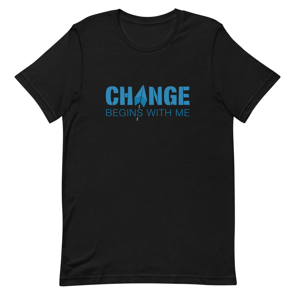 Change Begins With Me Short-Sleeve Unisex T-Shirt