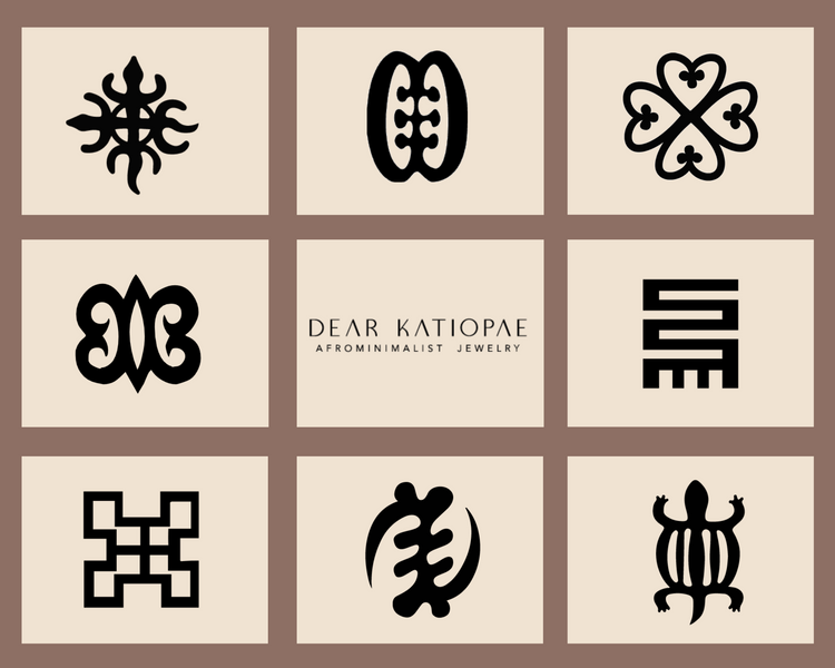 Adinkra Symbols & Meanings
