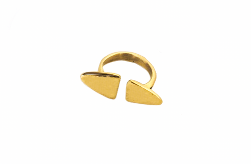 Kibwe ring  |Afrominimalist | African ring | African jewellery