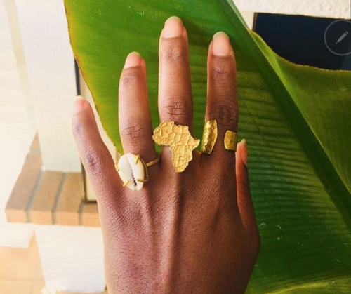 Mama Africa ring | African map ring  | Afrominimalist | African ring | African jewellery