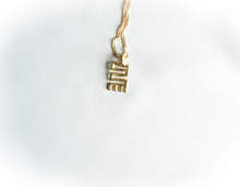 Load image into Gallery viewer, Nkyinkyim necklace | Adinkra symbols | Afrominimalist | African necklace | African jewelry