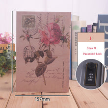 Load image into Gallery viewer, Size M Password Locker Safe Box Money Storage box Hidden Secret Safe Steel Simulation Classic Book Style Key Safe Box Piggy Bank