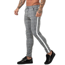 Load image into Gallery viewer, Classic Men Lattice Suit Pants 2020 Summer Thin Plaid Suit Trousers Casual Business Vintage Formal Pants For Wedding Party 2020