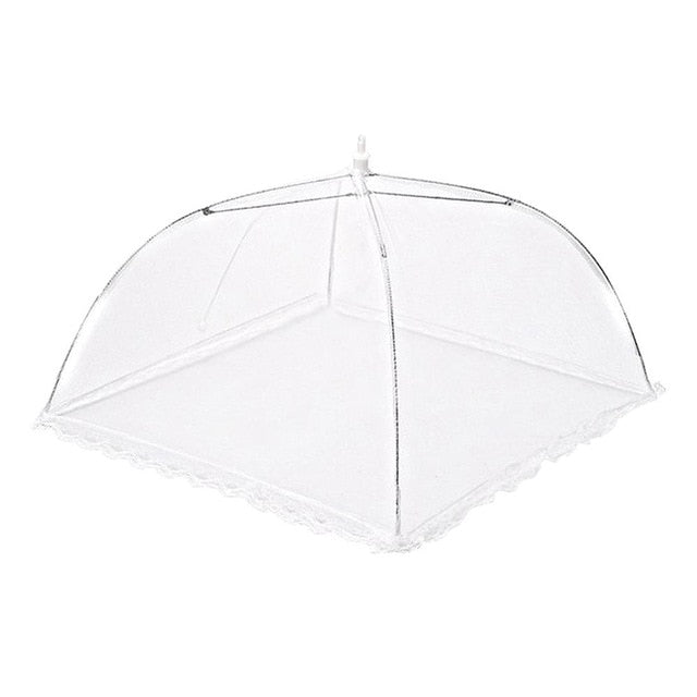 Foldable Mesh Pop Up Food Cover Dome Tent Net Umbrella For Anti Mosquito Tent Picnic Things For The Kitchen Tool Accessories