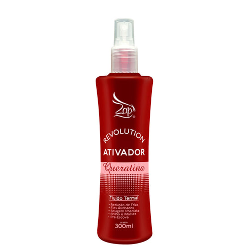 Zap Revolution Keratin Activator Thermal Fluid 300ml / 10.1fl.oz