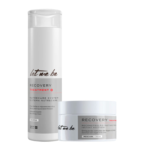 Let me Be Kit Recovery Mask and Shampoo Fortifying Treatment