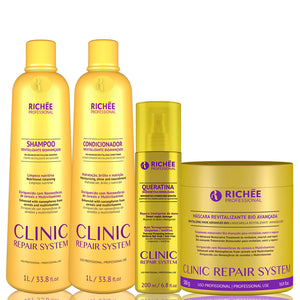 Richée Professional Clinic Repair System Complete Treatment Kit