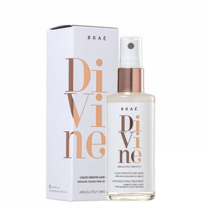 Braé Divine Absolutely Smooth Shampoo, Conditioner and Mask & Liquid Hair Mask Kit
