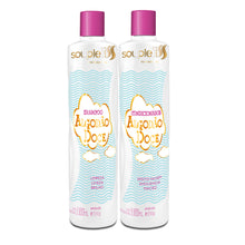 Load image into Gallery viewer, SoupleLiss Cotton Candy Shampoo + Conditioner 300ml / 10.14fl.oz
