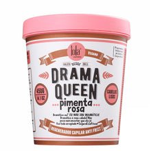Load image into Gallery viewer, Lola Cosmetics Drama Queen Pimenta Rosa Anti Frizz Hair Mask & Vintage Girls Smoothing Cream Kit