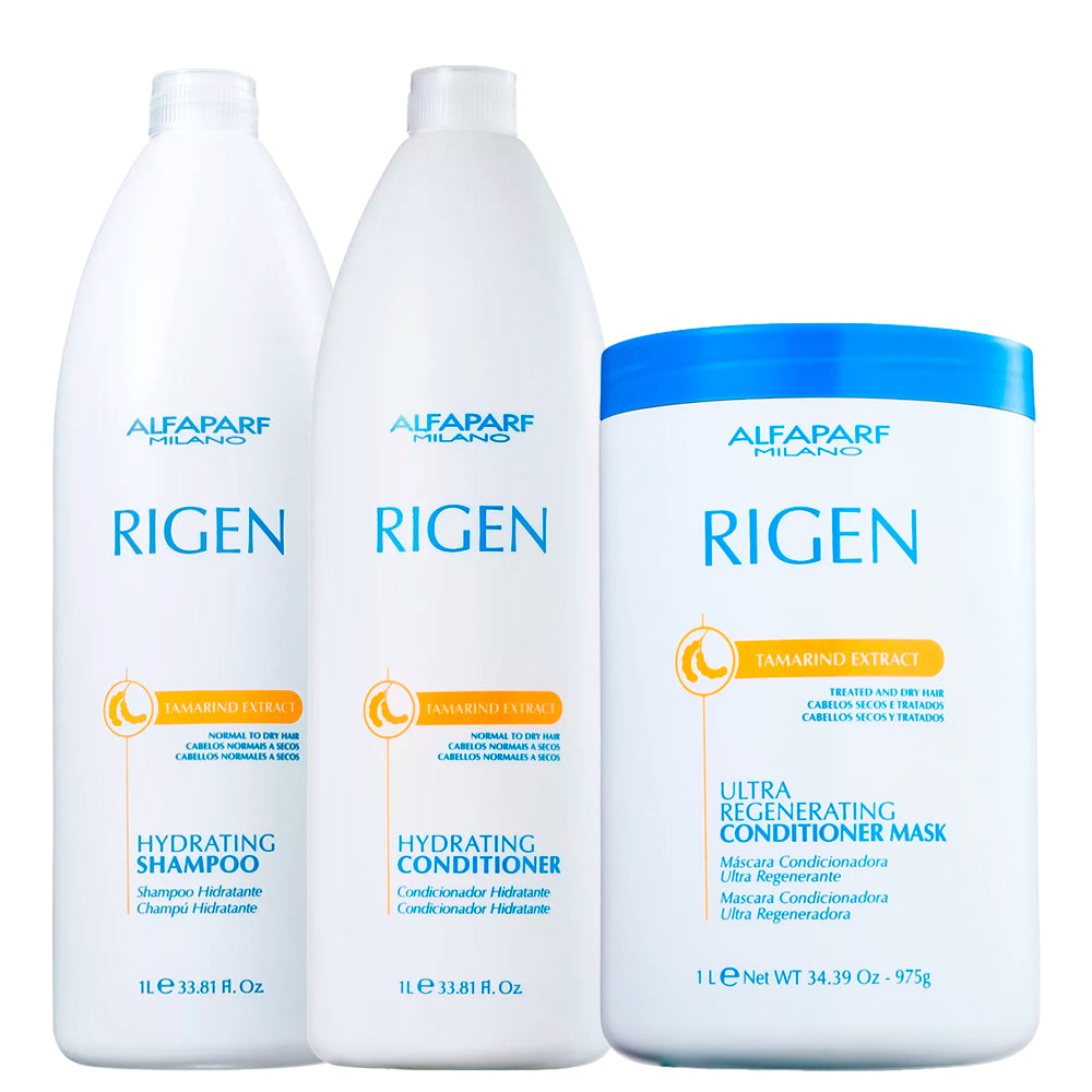 Alfaparf Rigen Hydrating Professional Dry and Weak Hair Kit