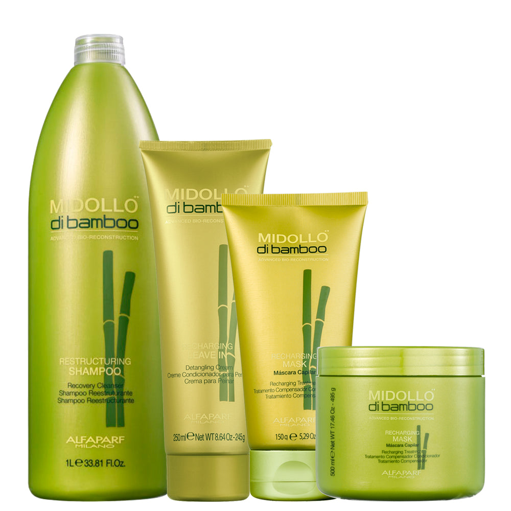 Alfaparf Midollo Di Bamboo Hair Salon Kit
